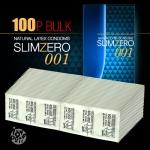[벌크콘돔] 슬림제로 001 (초박형) 100P