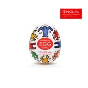 [일본 TENGA] Egg KHE-002 텐가 에그 (키스해링 댄스)