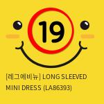[레그에비뉴] LONG SLEEVED MINI DRESS (LA86393)