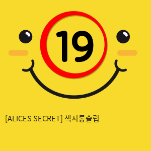 [ALICES SECRET] 섹시롱슬립 & 팬티 세트 NY14020032 (A44)