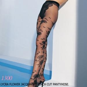 [레그에비뉴] 프랑스식 꽃무늬 팬티스타킹 LA1300